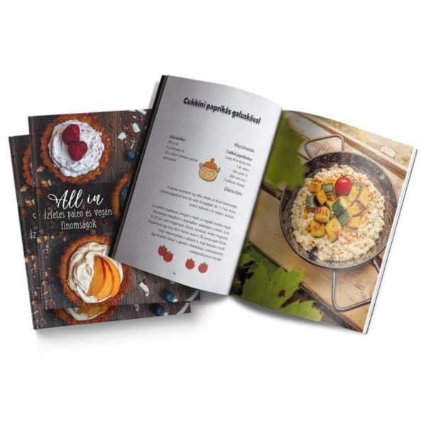 Czanik-Balázs-Kiss-Enikő-Czanik-Balázs-Kiss-Enikő-All in, paleo és vegán finomságok - Mindenmentes receptkönyv